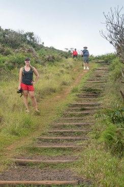 Climbing to El Junco